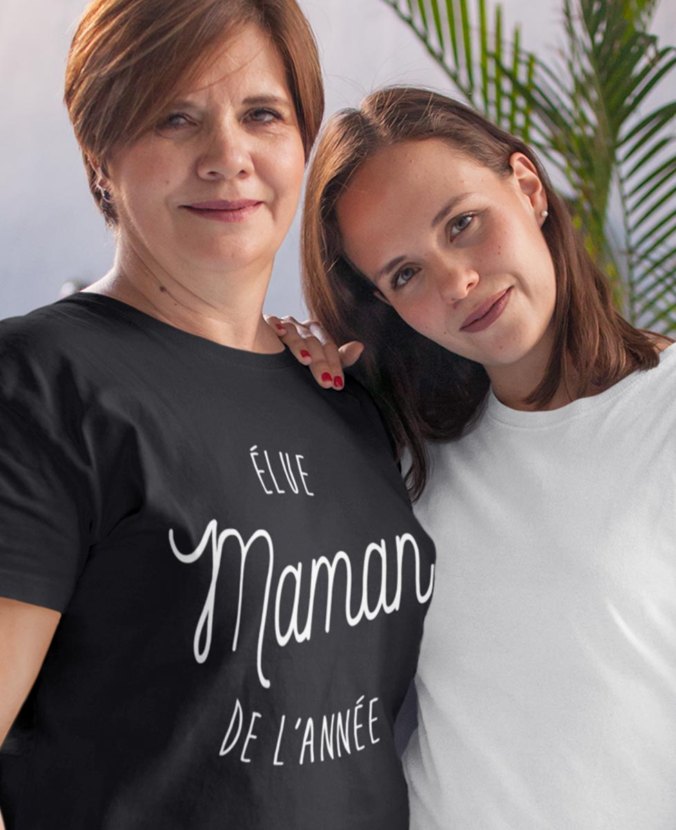Tee-shirt Élue Maman de l'Année