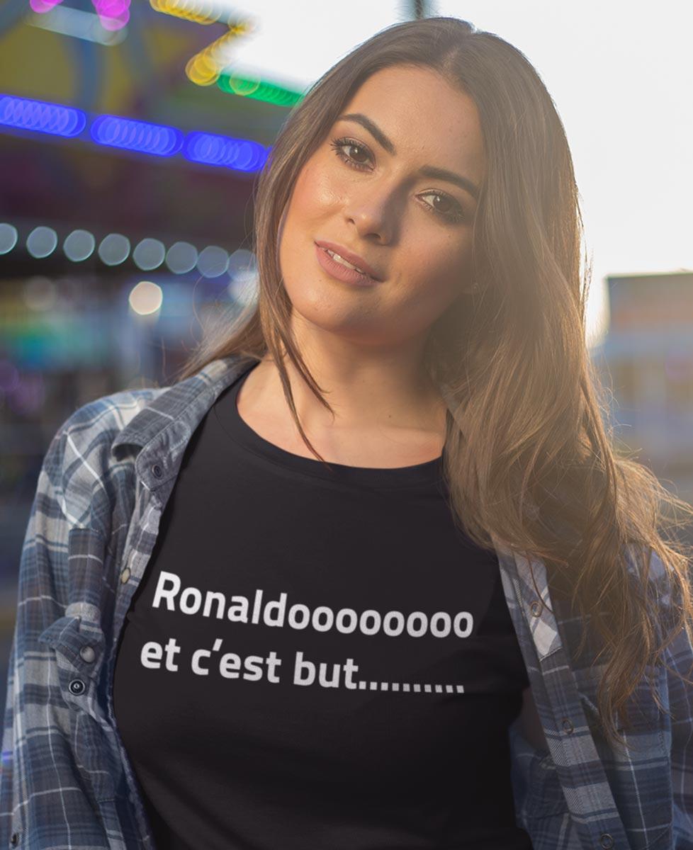 Tee-shirt Ronaldo et c'est but ...