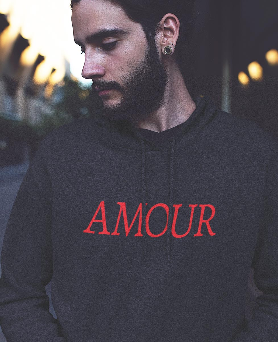 Amour Letters Hoodie