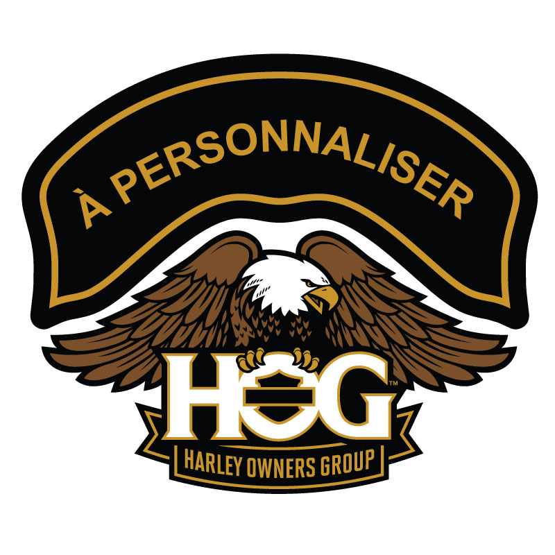 Harley Davidson HOG Lifetime - Personalised Decal