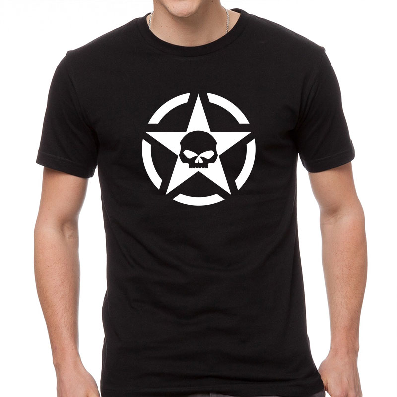 "Tee shirt ""US ARMY - Harley Davidson"""