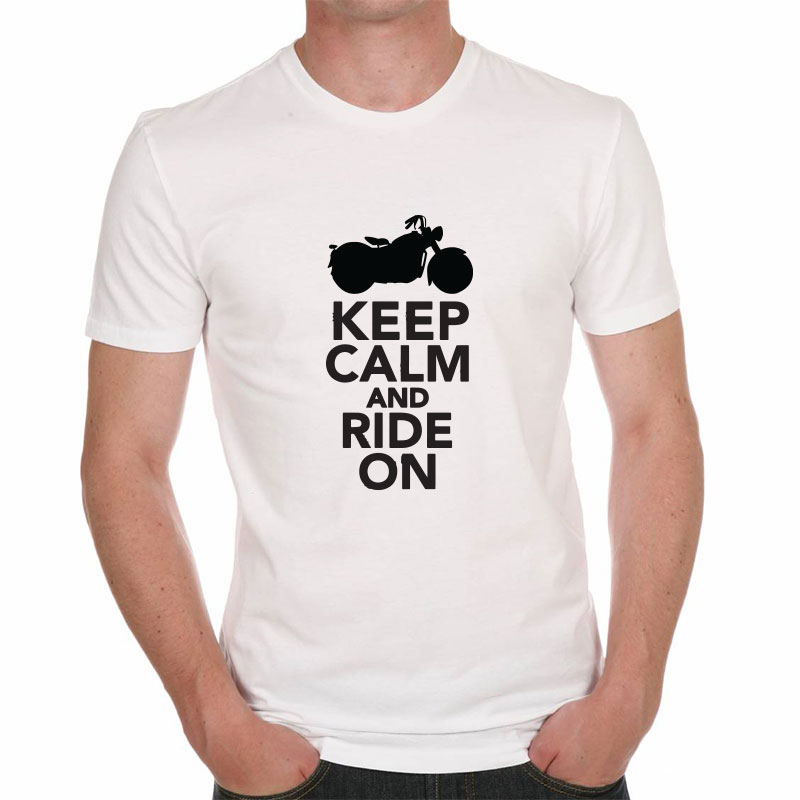 "Tee shirt ""Keep Calm And Ride On"""