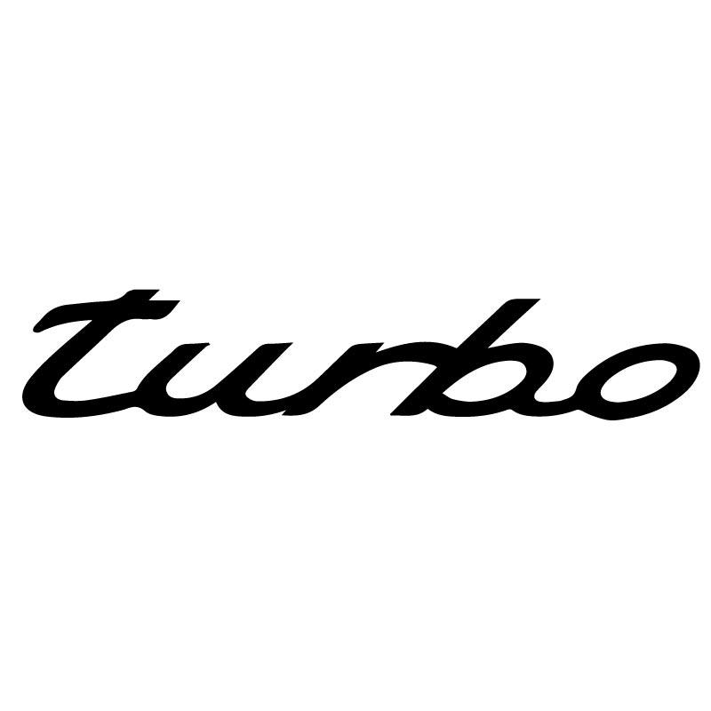 Sticker Porsche Turbo Decal