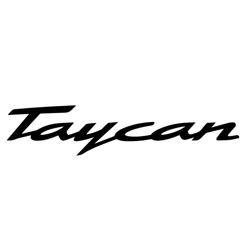 Porsche Taycan Decal