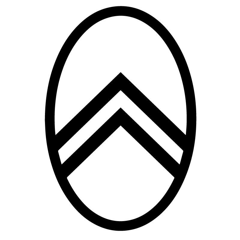 citroen logo 1919 version 2 decal