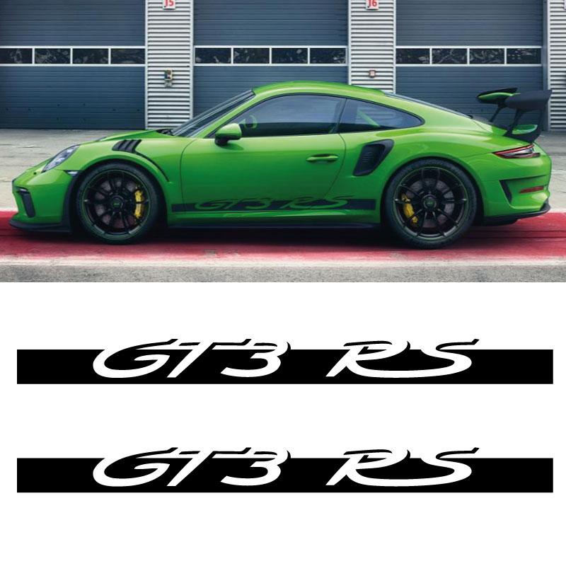 Car Side Stripes Decals Set Porsche GT3 RS