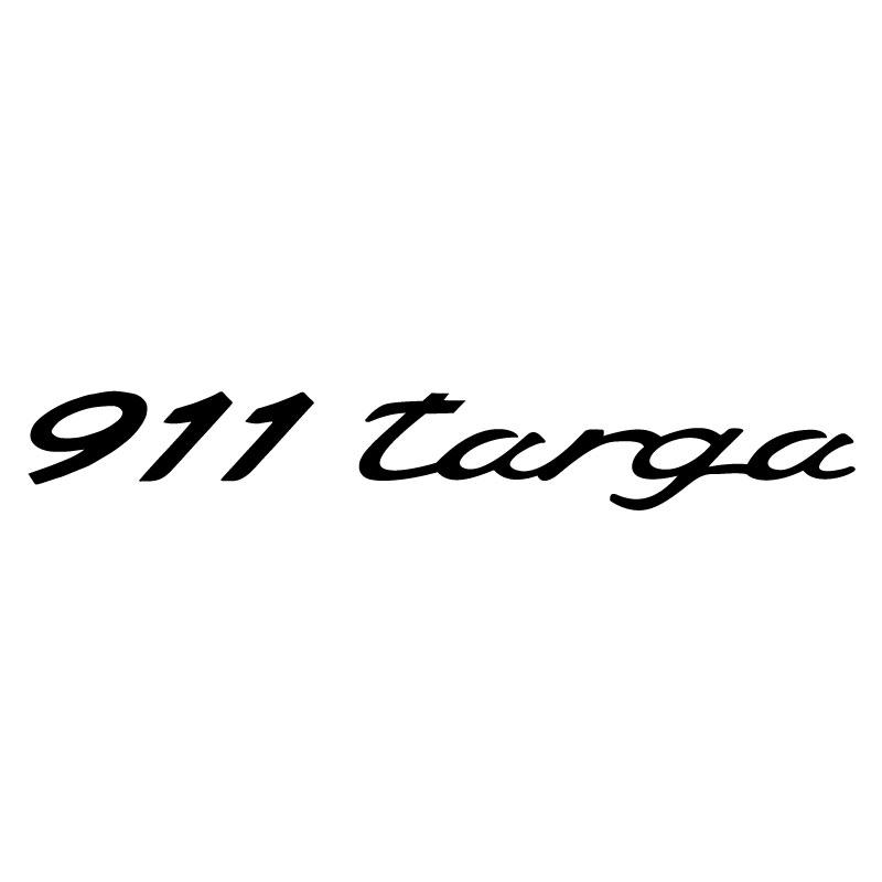 Logo Porsche 911 Targa Decal