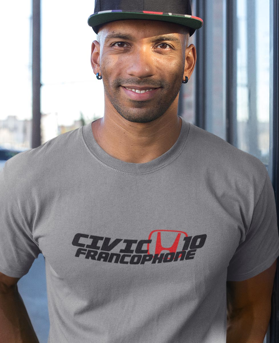 Honda Civic 10 Francophone T-shirt