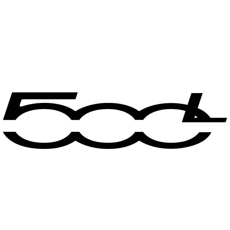 Fiat 500L Logo Decal