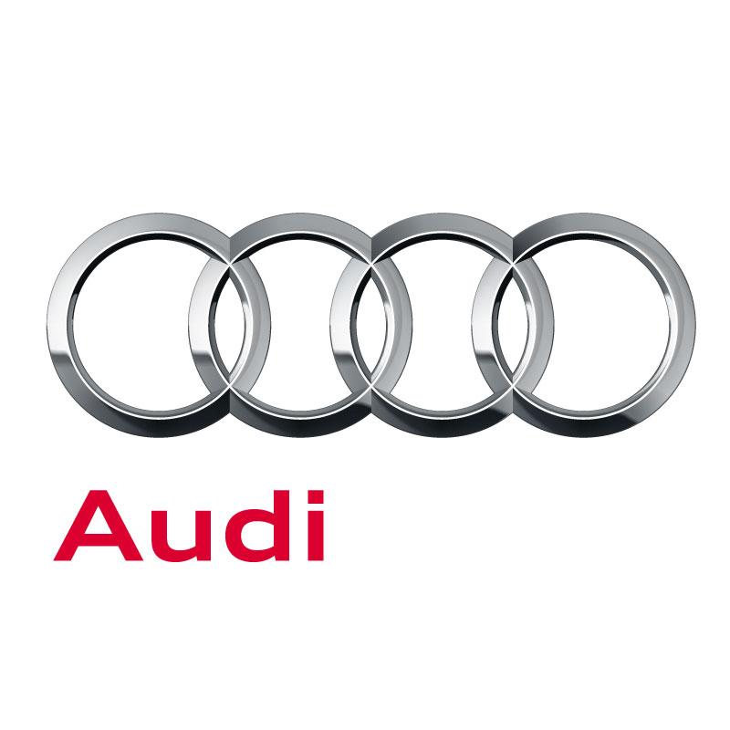 Audi Logo 2018 Decal