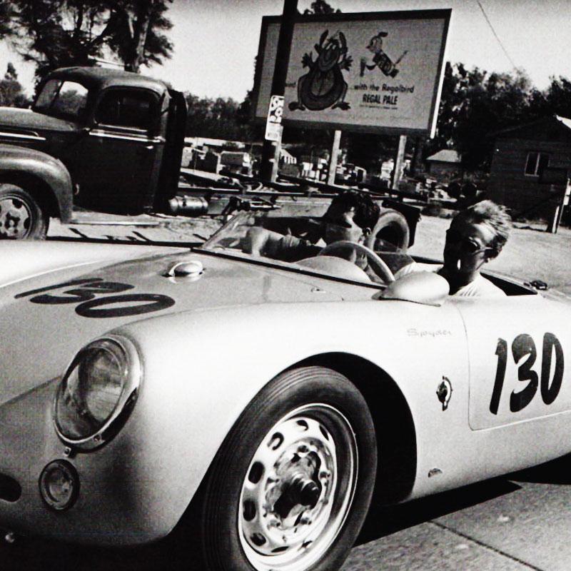 Kit Stickers du fameux Porsche de James Dean
