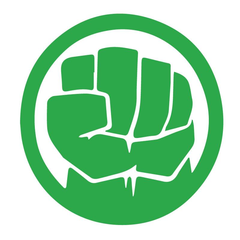 Hulk Logo Decal