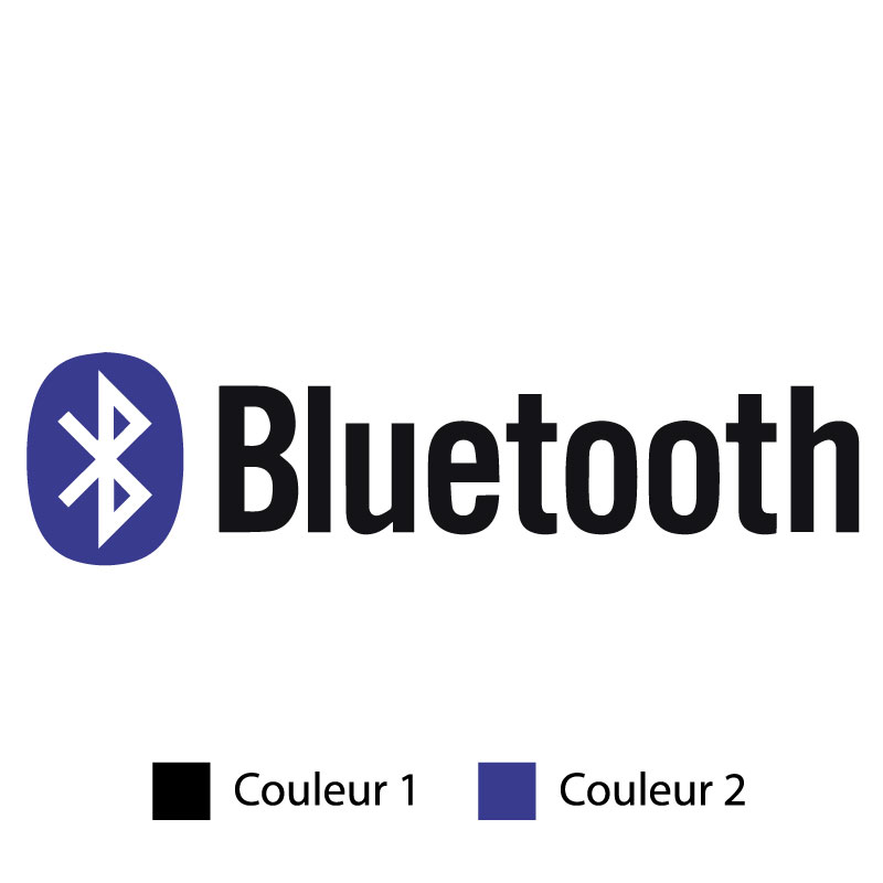 Bluetooth Logo Decal
