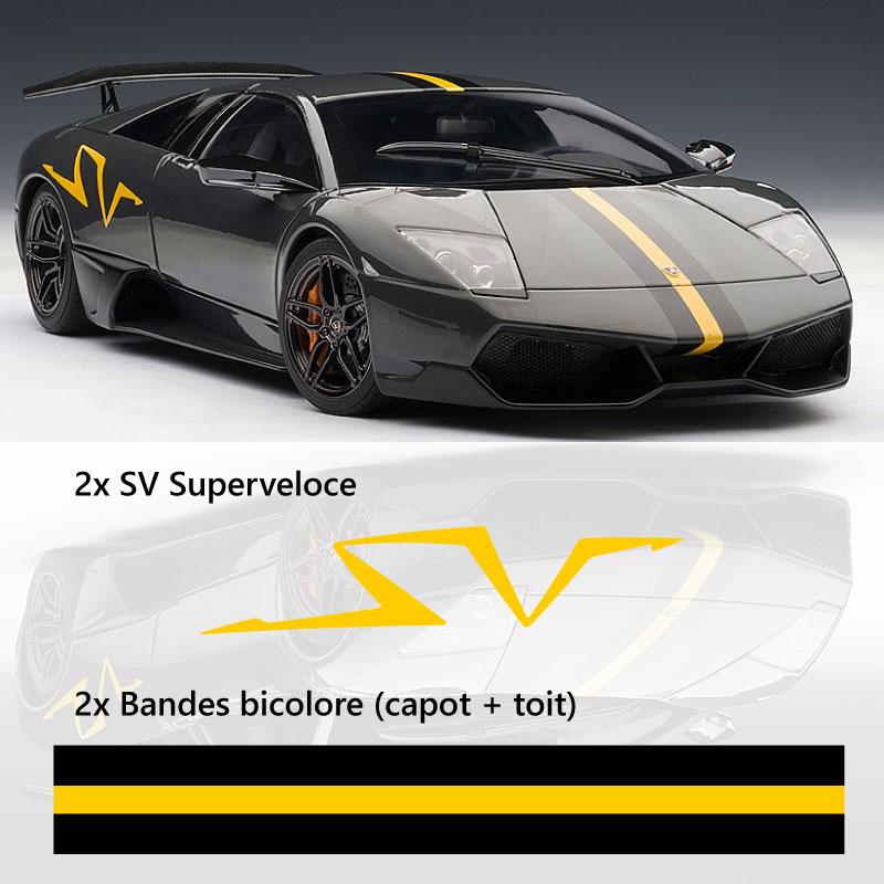 Kit Stickers Lamborghini Murcielago LP670