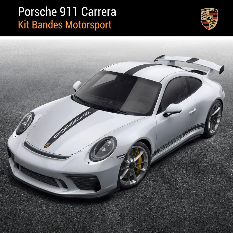 Kit Bandes Autocollantes Porsche 911 Carrera Motorsport