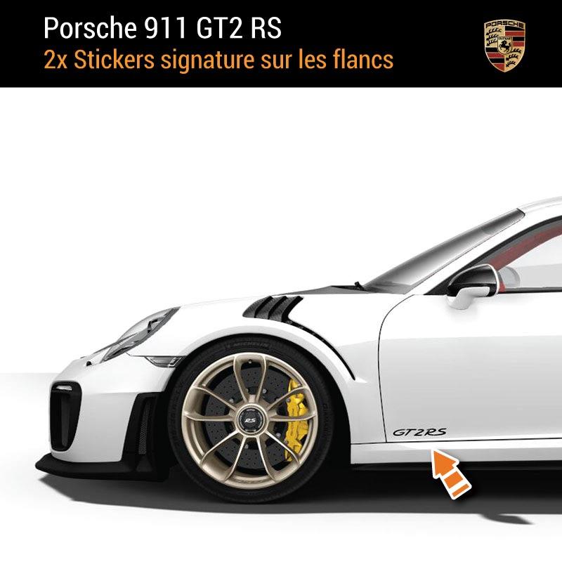 Kit Stickers Flancs Porsche 911 GT2 RS