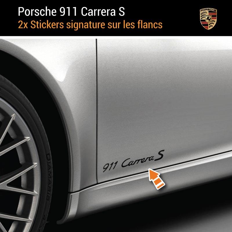 Kit Stickers Flancs Porsche 911 Carrera S