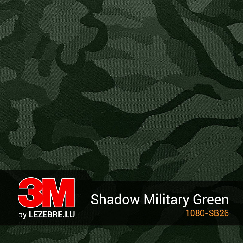 Film Covering Camouflage Shadow Military Green 3M™