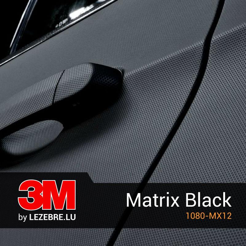 3M Matrix Black Wrap Film
