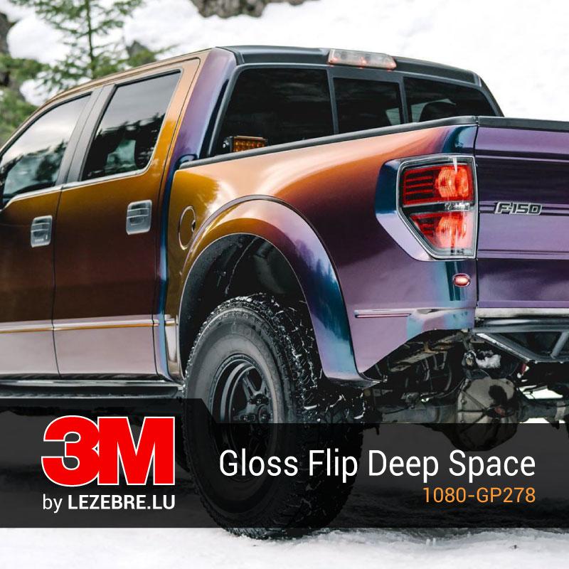film covering gloss flip deep space 3m. Black Bedroom Furniture Sets. Home Design Ideas