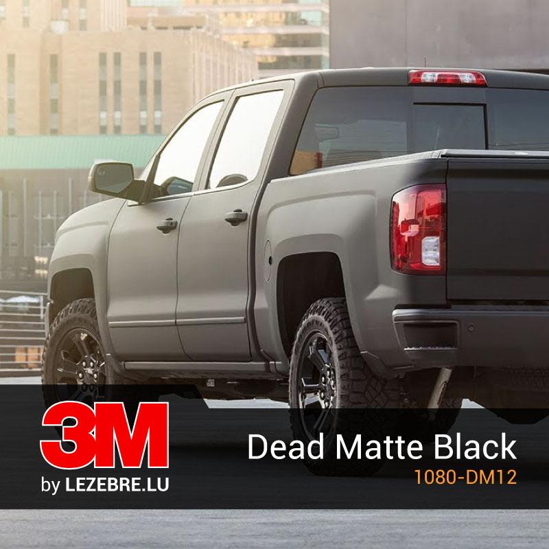 film covering dead matte black 3m noir mat. Black Bedroom Furniture Sets. Home Design Ideas