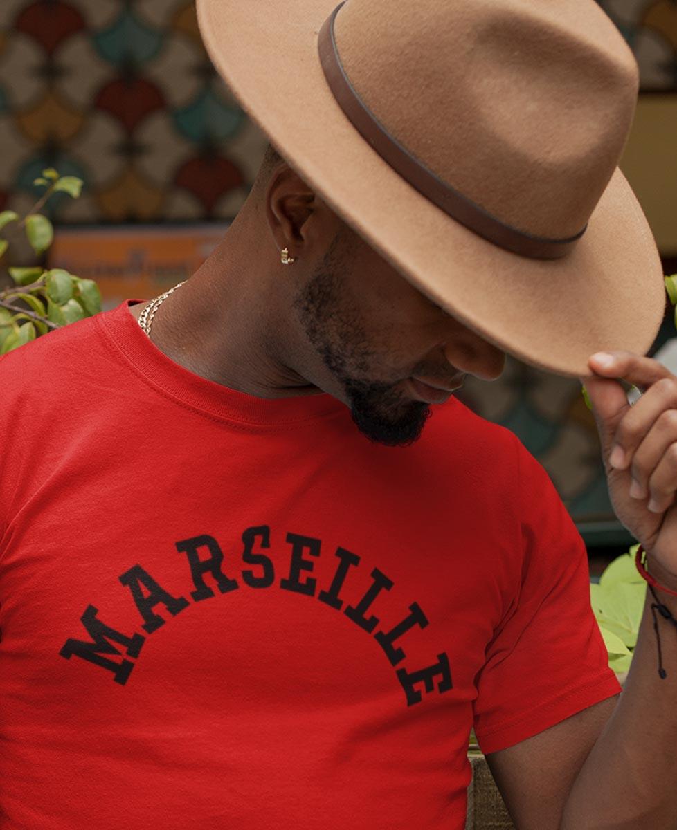 Tee-shirt Marseille Urbain