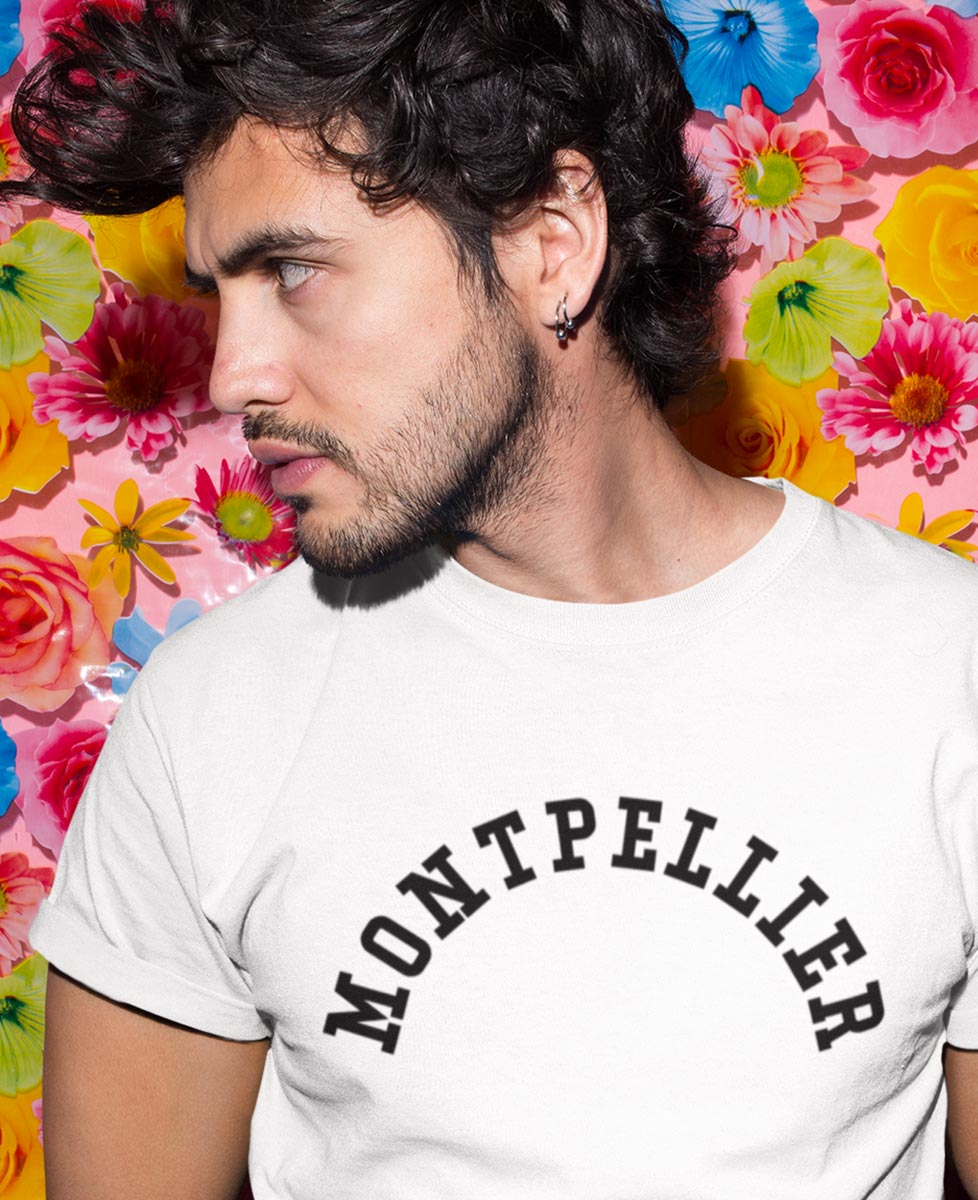 Tee-shirt Montpellier Urbain