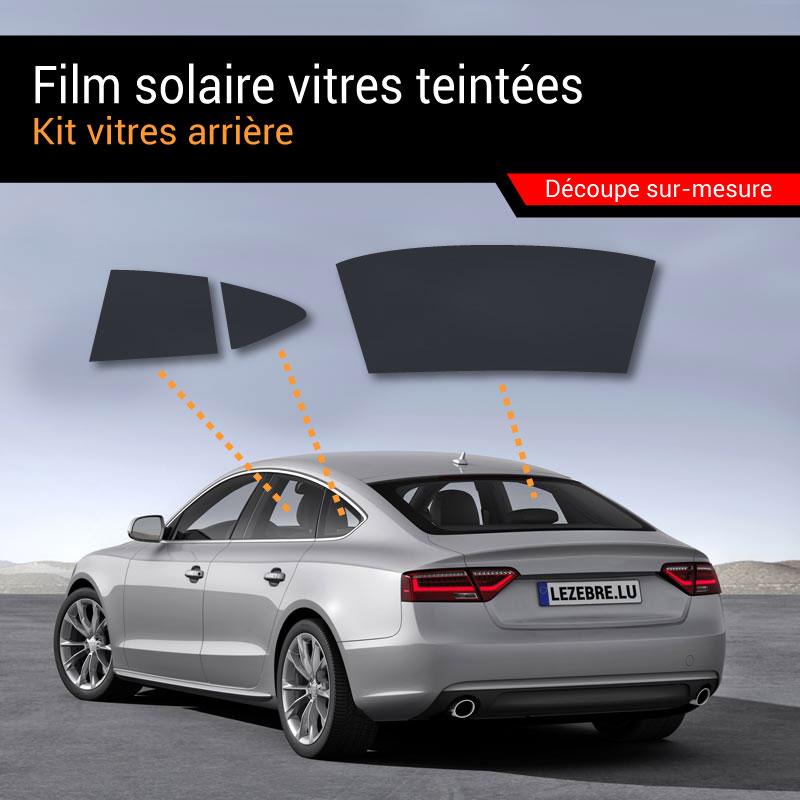 Film Solaire Vitres Teintées Voiture - Kit vitres arrière