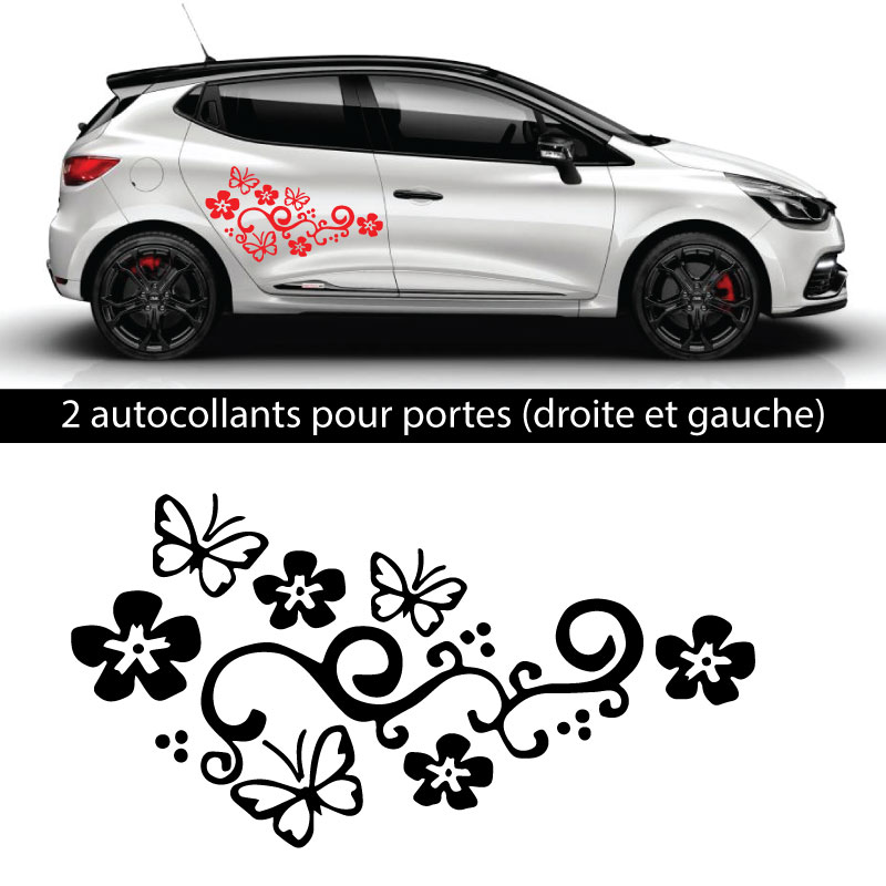 Kit Stickers Papillons Renault Clio 2018