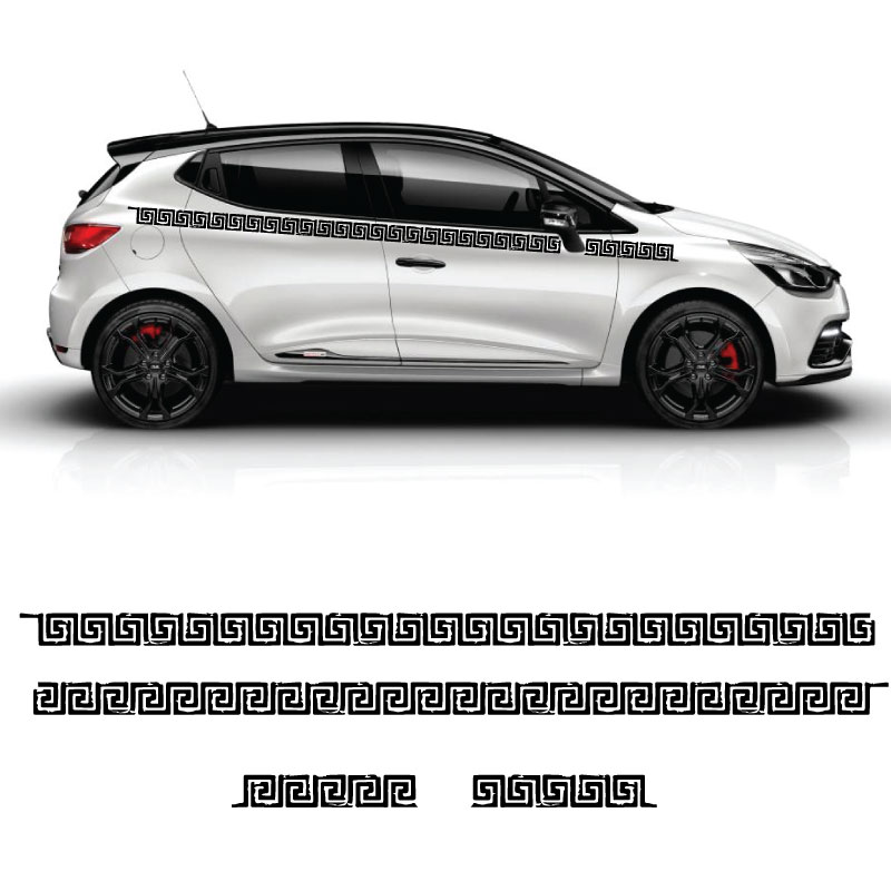 Kit Stickers Labyrinthe Renault Clio