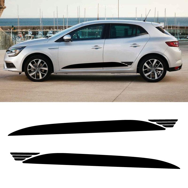 Aufkleber Seitenleiste Renault Megane Elia Style