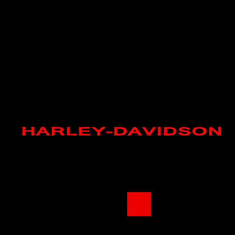 Harley-Davidson Sportster Bicolour Decal
