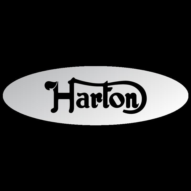 Kit of 2 Harton stickers (11 x 3,5 cm)