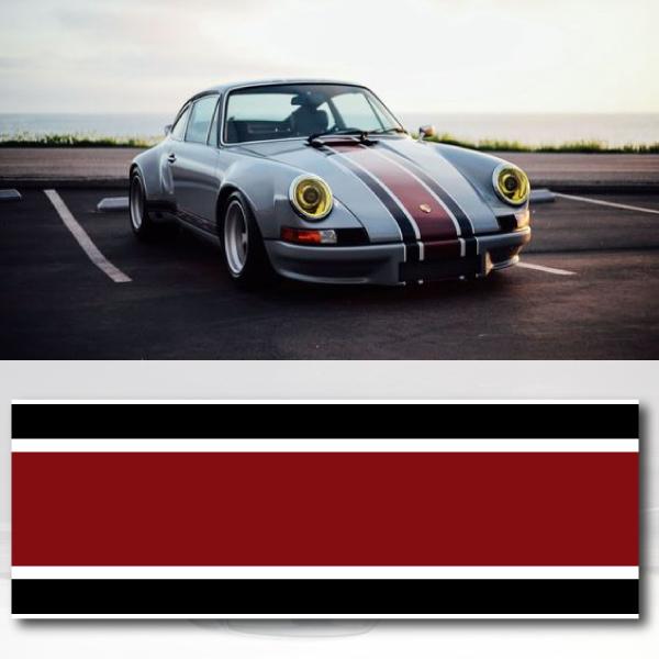 Porsche 911 Carrera RSR Backdate Car Strip Sticker