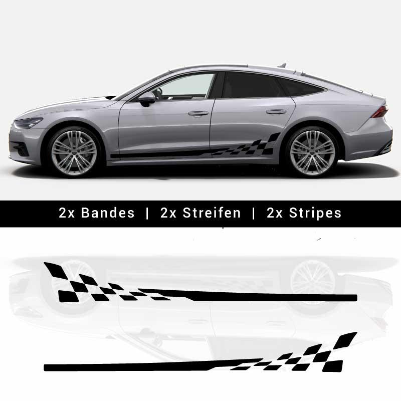 Audi A7 / S7 Sportback 2019 Stripes Decals