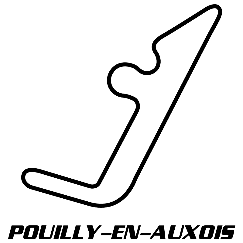Pouilly-En-Auxois Circuit Decal