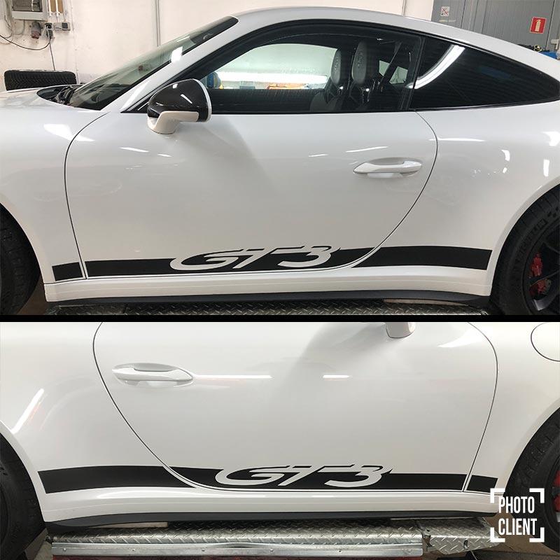 Porsche GT3 Side Stripes Decals Set