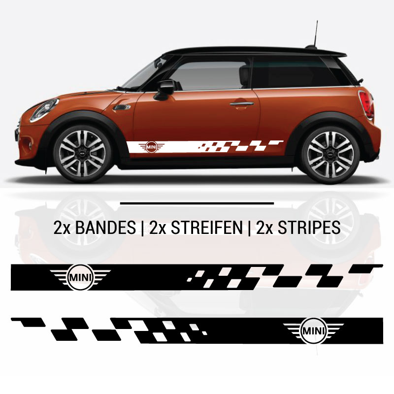 Mini Stripes Decals Set