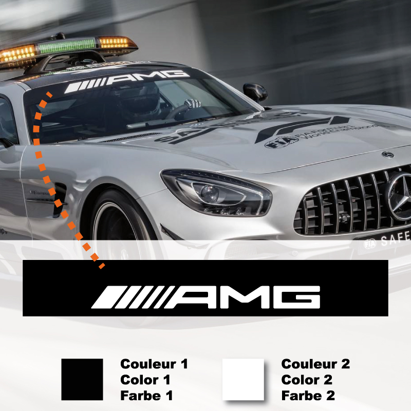 Mercedes AMG F1 Safety Car Streife Aufkleber