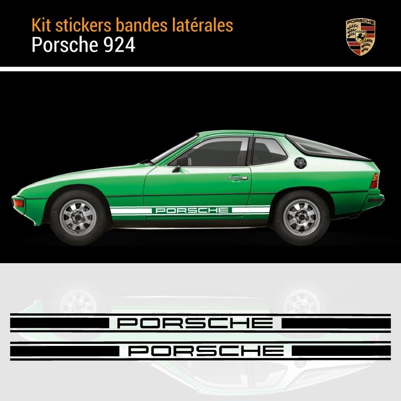 Porsche 924 Strips Decals Set