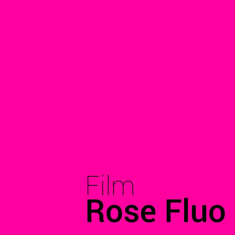 Film vinyle Rose Fluo