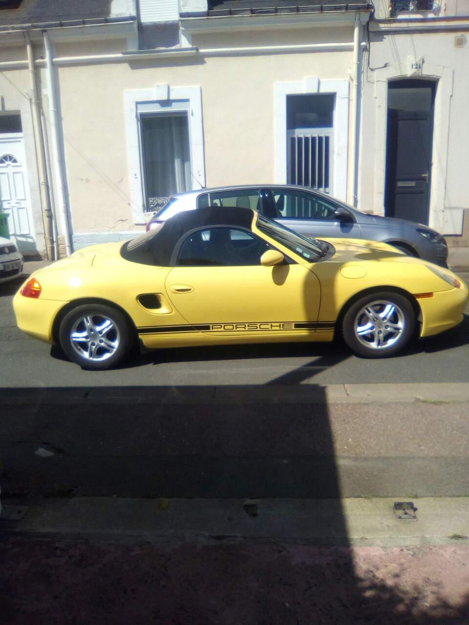 Porsche logo stripes decals set