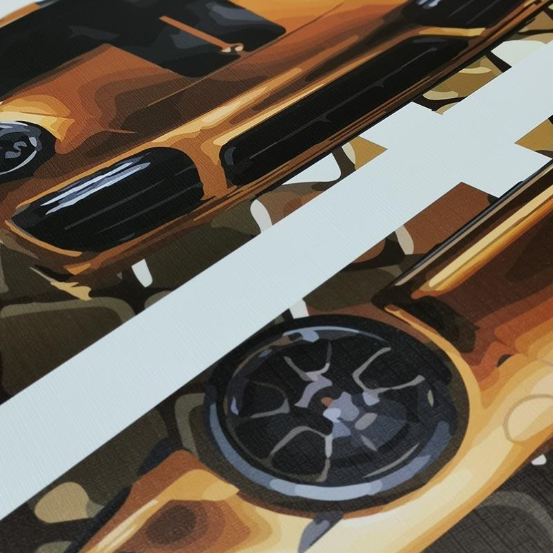 Canvas Porsche 911 Turbo S Exclusive