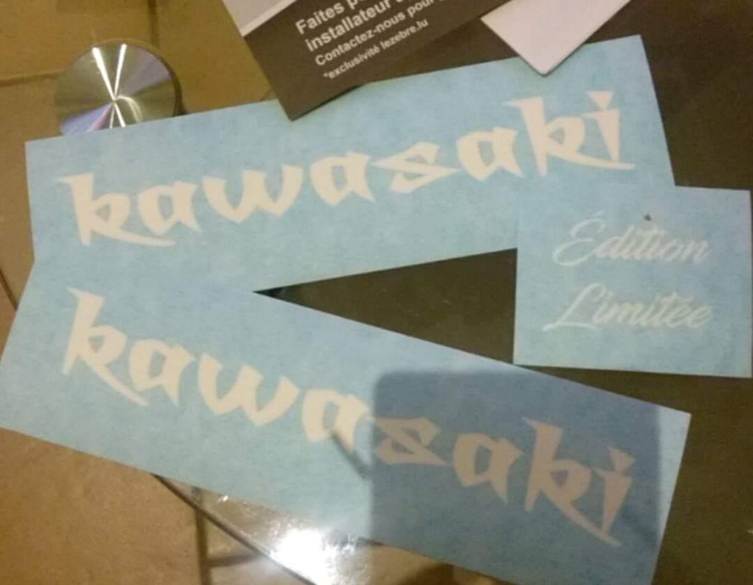 Kawasaki Japan Decal
