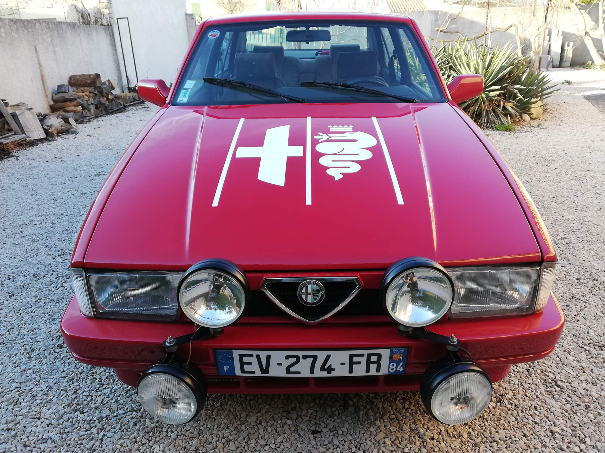 Alfa Romeo Logo roof sticker