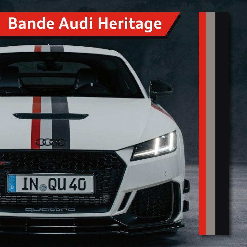 Audi Heritage Strip Decal
