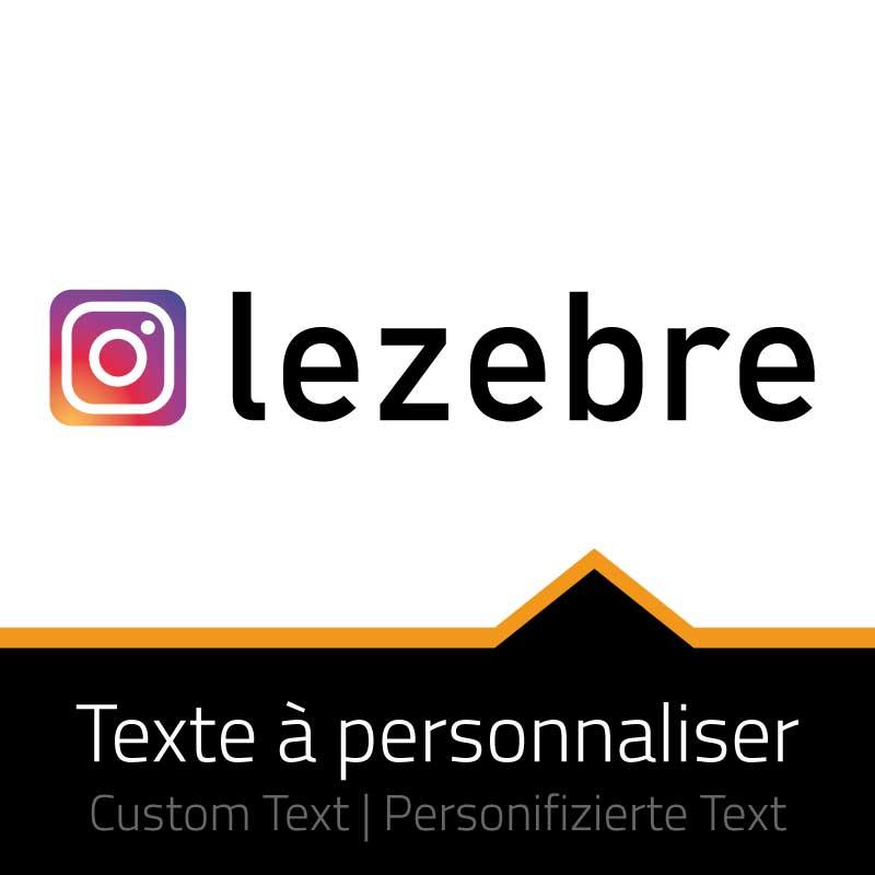Sticker Icon Instagram - Custom Text