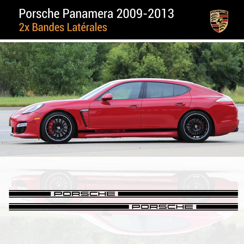 Porsche Panamera 2009-2013 Stripes Decals Set