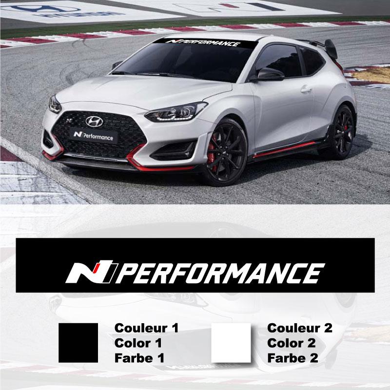 Hyundai N-Performance Sunstrip Sticker