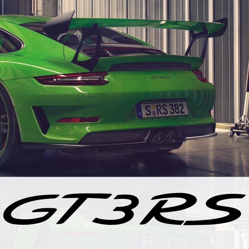 Porsche 911 GT3 RS logo Decal